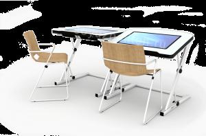 Спт - School 1 - индивидуальная мультимедийная парта с большим экраном