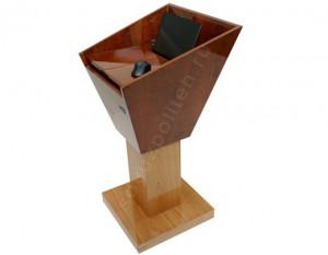 СПТ-Док – это современная интерактивная трибуна, выполненная из дерева.