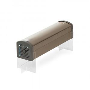 Защищенный облучатель Спт - Кварц  применяется для уничтожения в воздухе помещения штаммов вируса Covid-19, гриппа, болезнетворных бактерий. Может быть интегрирован в мультимедийные трибуны, интерактивные стойки.